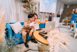 オンライン×オフラインのハイブリッド型結婚式「HAKU wedding connect」が誕生